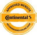 Continental a donné le label site approuvé à 1001pneus