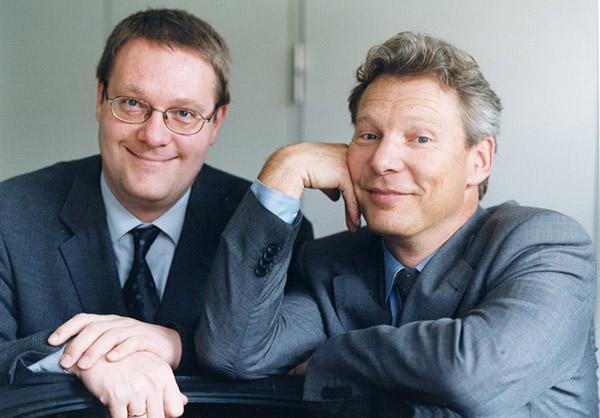 Les fondateurs de la société Delticom AG qui édite le site 123pneus.