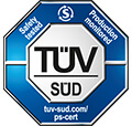 Certification TÜV obtenue par 123pneus en 2006.