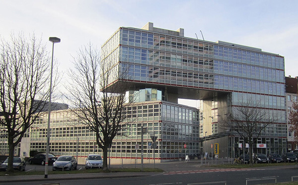 Le siège de Delticom situé dans la ville de Hanovre.