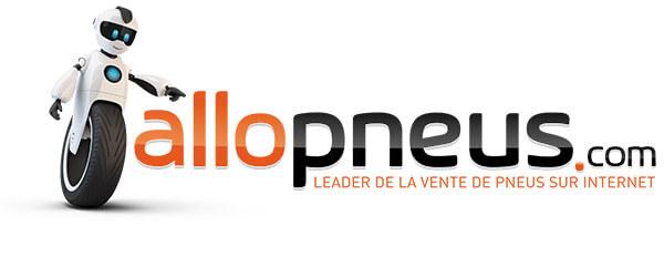 Le logo de allopneus.